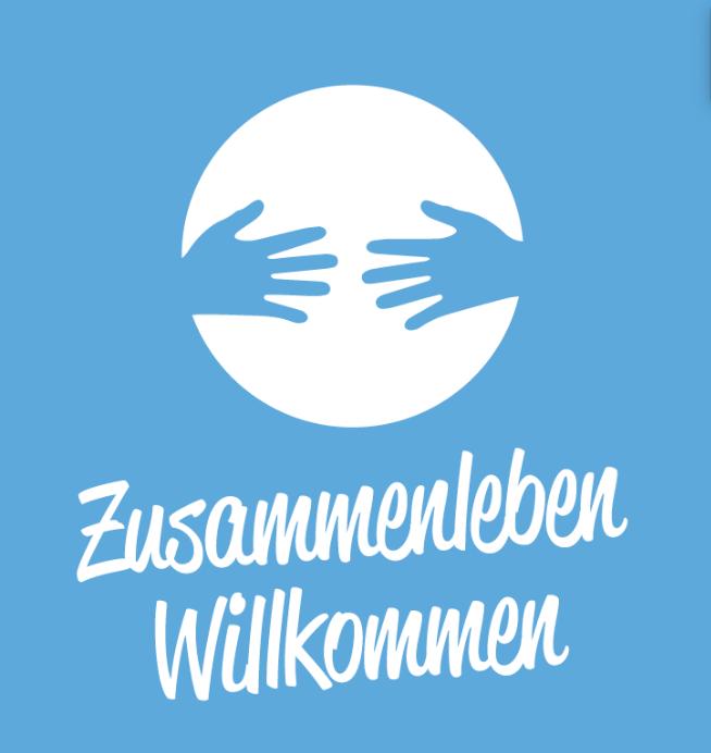 Logo: Zusammenleben willkommen
