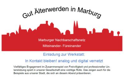 In Kontakt bleiben – analog und digital, gute Beispiele aus unserer Stadt!