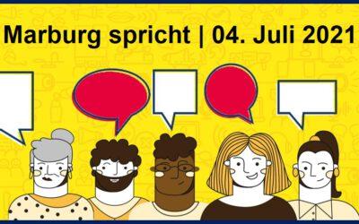 """Freiwilligenagentur Marburg-Biedenkopf e. V.  unterstützt Aktion """"Marburg spricht"""""""